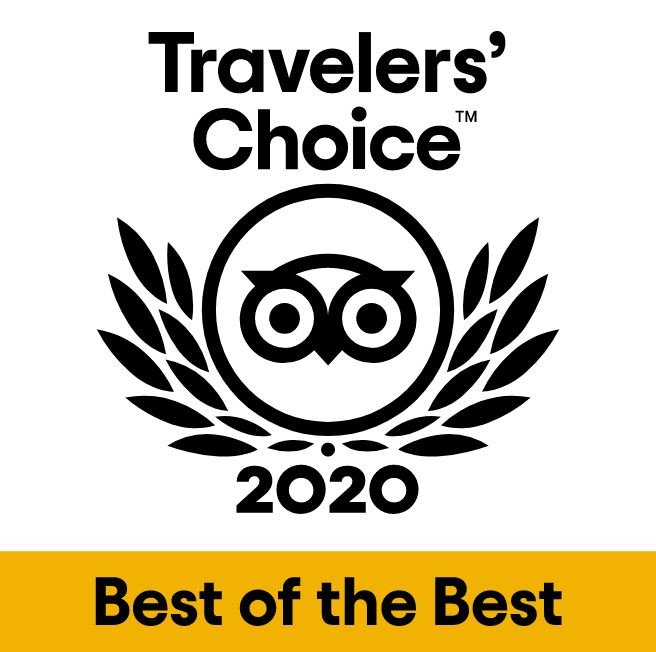We're A TripAdvisor 'Traveller's Choice' Location
