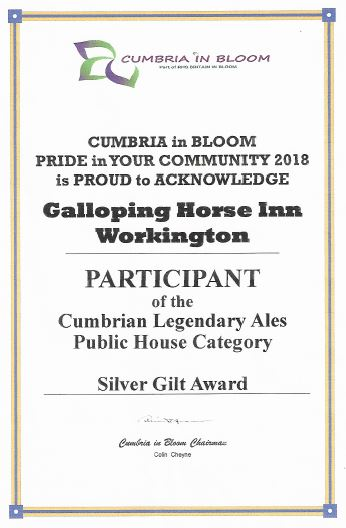 Cumbria in Bloom award