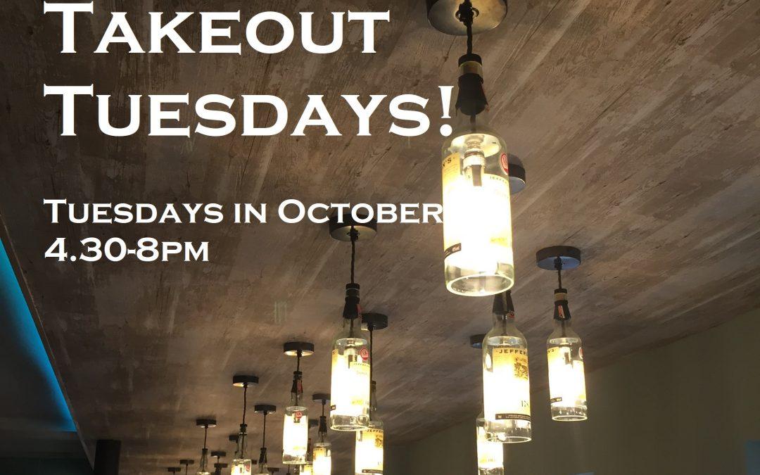 Takeout Tuesdays!